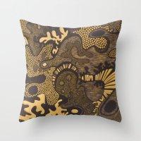Experimental Throw Pillow