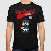 Earthbound & Down Mens Fitted Tee Tri-Black SMALL