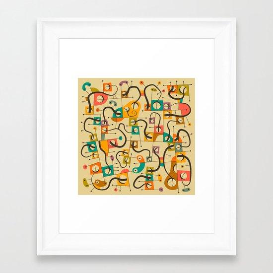 A DIFFERENT WORLD Framed Art Print
