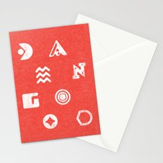 Damn Good Unique Lettering Stationery Cards