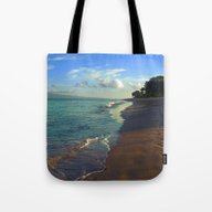 Strolling The Beach Tote Bag