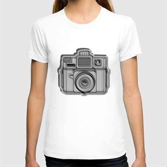I Still Shoot Film Holga Logo - Black T-shirt