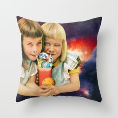 Exoplanet Cocktail Throw Pillow