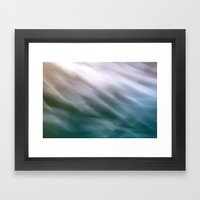 Flow VI Framed Art Print