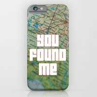 iPhone & iPod Case featuring you found me by Inspire me Print