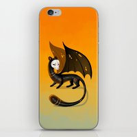 Black Stoat iPhone & iPod Skin