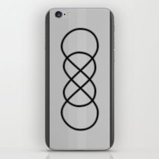 I Love You Infinity Times Infinity iPhone & iPod Skin