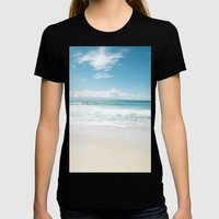 Kapalua Blue Womens Fitted Tee Black SMALL