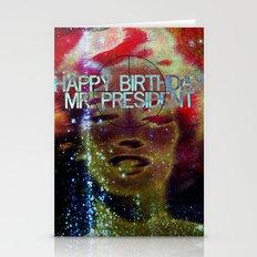 Happy Birthday Mr.Presid… Stationery Cards