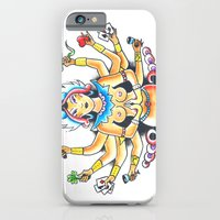 iPhone & iPod Case featuring Kali Traditional  by Christopher Chouinard