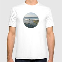 Surfers Mens Fitted Tee White SMALL