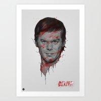 Dexter/Michael C.Hall Art Print