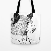 Bearing it all  Tote Bag