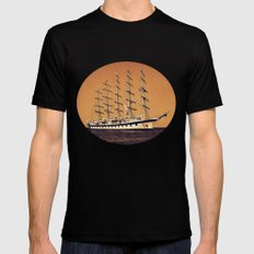 Old Ship Mens Fitted Tee Black SMALL