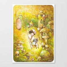 Niwashi no Babu-Kun Canvas Print