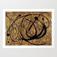 Onyx - landscape format Art Print