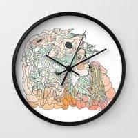 W A R M // M A R S H Wall Clock