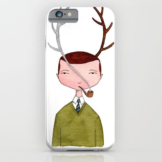 One real antler, one imagined iPhone & iPod Case