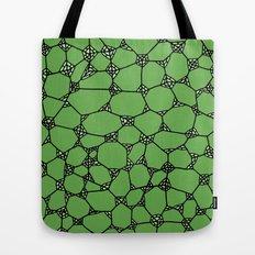 Yzor pattern 006-4 kitai green Tote Bag
