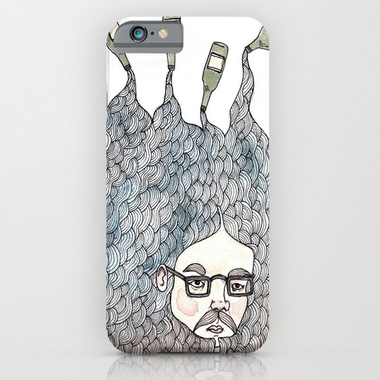 Bottle Beard iPhone & iPod Case