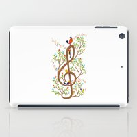 Song Birds iPad Case