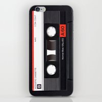 Old School Tape iPhone & iPod Skin