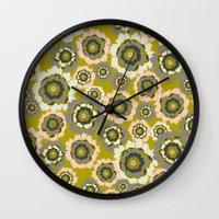 Floral3 Wall Clock