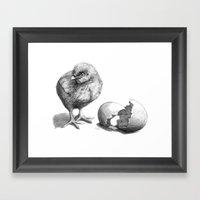 Chick Sk132 Framed Art Print