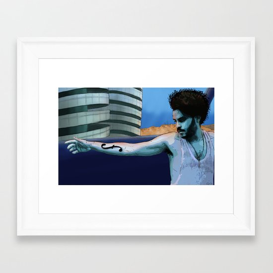 """Confess"" Framed Art Print"