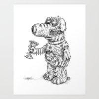 Man's Best Friend Art Print