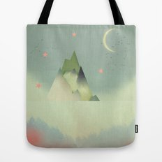 Abstract Cloudscape Tote Bag