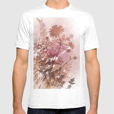 Botanical 2 White SMALL Mens Fitted Tee