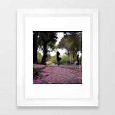 Purple Rain Framed Art Print