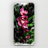 Rose Orchids Mirage iPhone & iPod Skin