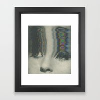 0 0 Framed Art Print