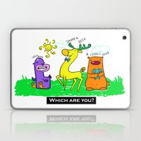 Who are you? Laptop & iPad Skin