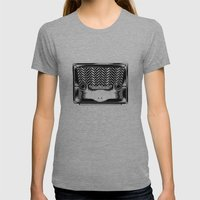 RadioSapo Womens Fitted Tee Athletic Grey SMALL