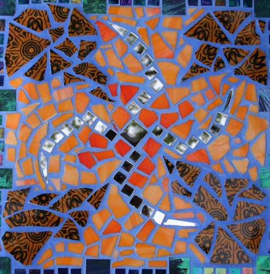 Mosaic  Canvas Print