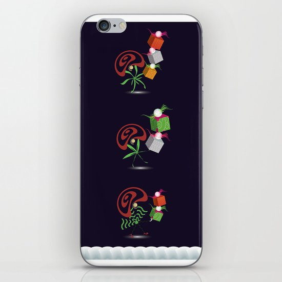 Christmas Card - Presents iPhone & iPod Skin