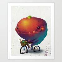 Bike Monster 2 Art Print