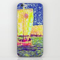 Sail Away Abstract Daydr… iPhone & iPod Skin