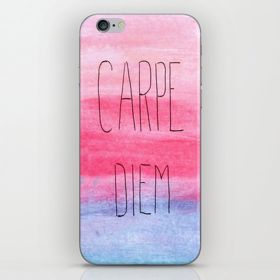 Seize The Day iPhone & iPod Skin