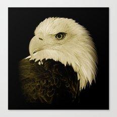 American Eagle Profile Canvas Print