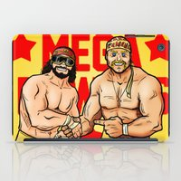 Mega Powers, Hulk Hogan & Macho Man (WWE, WWF) iPad Case