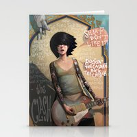 lyrics Stationery Cards featuring Rock the Casbah by Rudy Faber