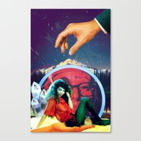 Touch Me Canvas Print
