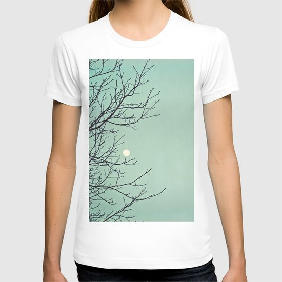 Holding the moon T-shirt