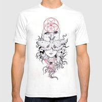 Minds Desire Mens Fitted Tee White SMALL