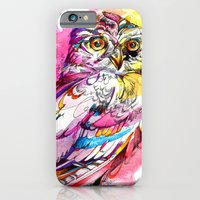 Neon Northern Pygmy Owl iPhone 6 Slim Case