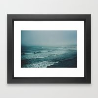 Across the Atlantic Framed Art Print